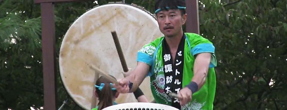 St. Louis Osuwa Taiko drummer