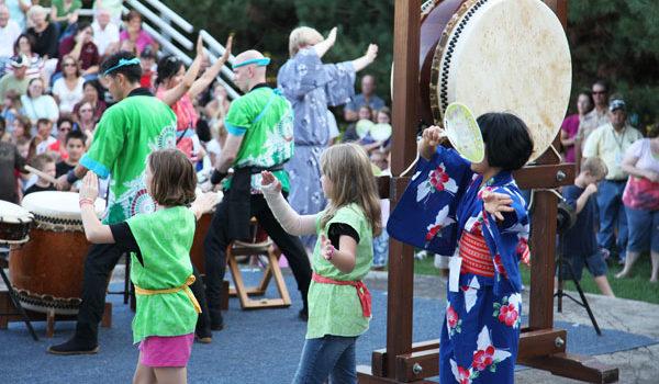 Learning the Japanese festival dance