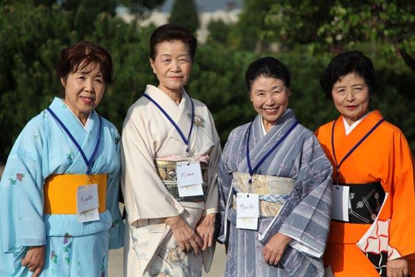 Isesaki Delegation visits Springfield for Fall Festival
