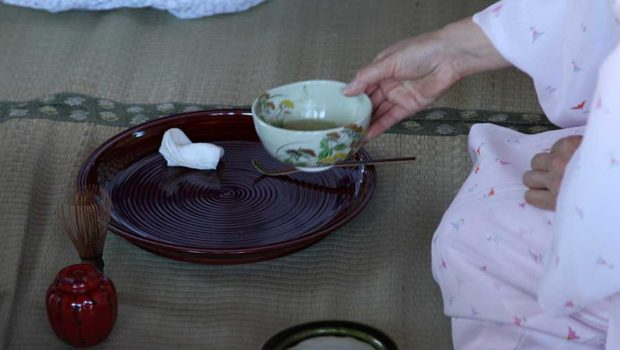 the graceful beauty of the tea ceremony