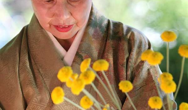 the art of Japanese flower arranging is called ikebana