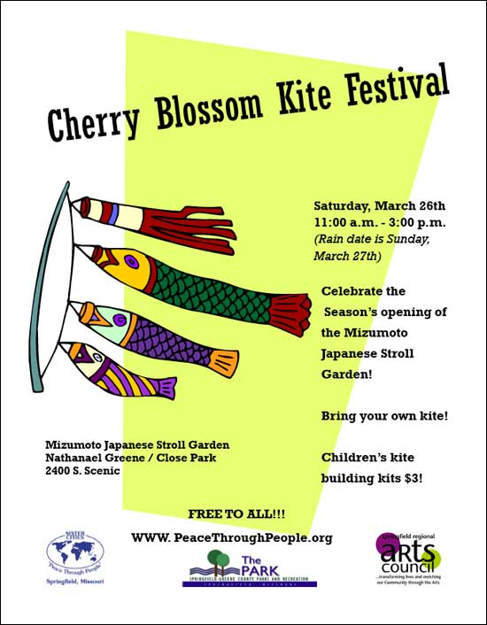 2011 Cherry Blossom Kite Festival on March 27