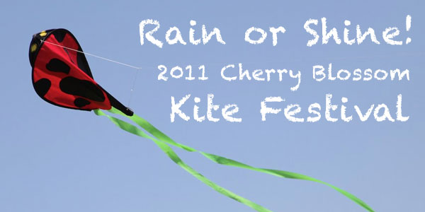 Lighting postpones the Cherry Blossom Kite Festival until Sunday, March 27