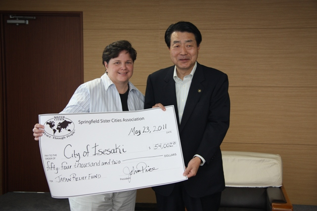Japan Relief Fund totals over $54,0000