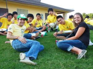 Isesaki student picnic