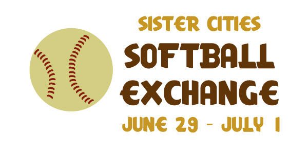 Sister Cities Softball Exchange, June 29 – July 1