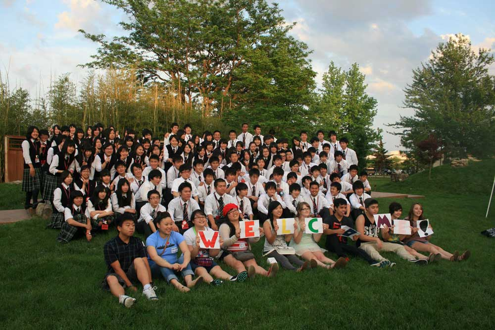 Isesaki Students visit MSU English Language Institute