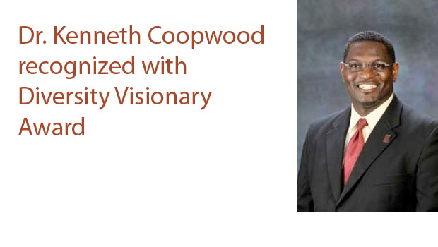 Ken Coopwood recognized with Diversity Visionary Award