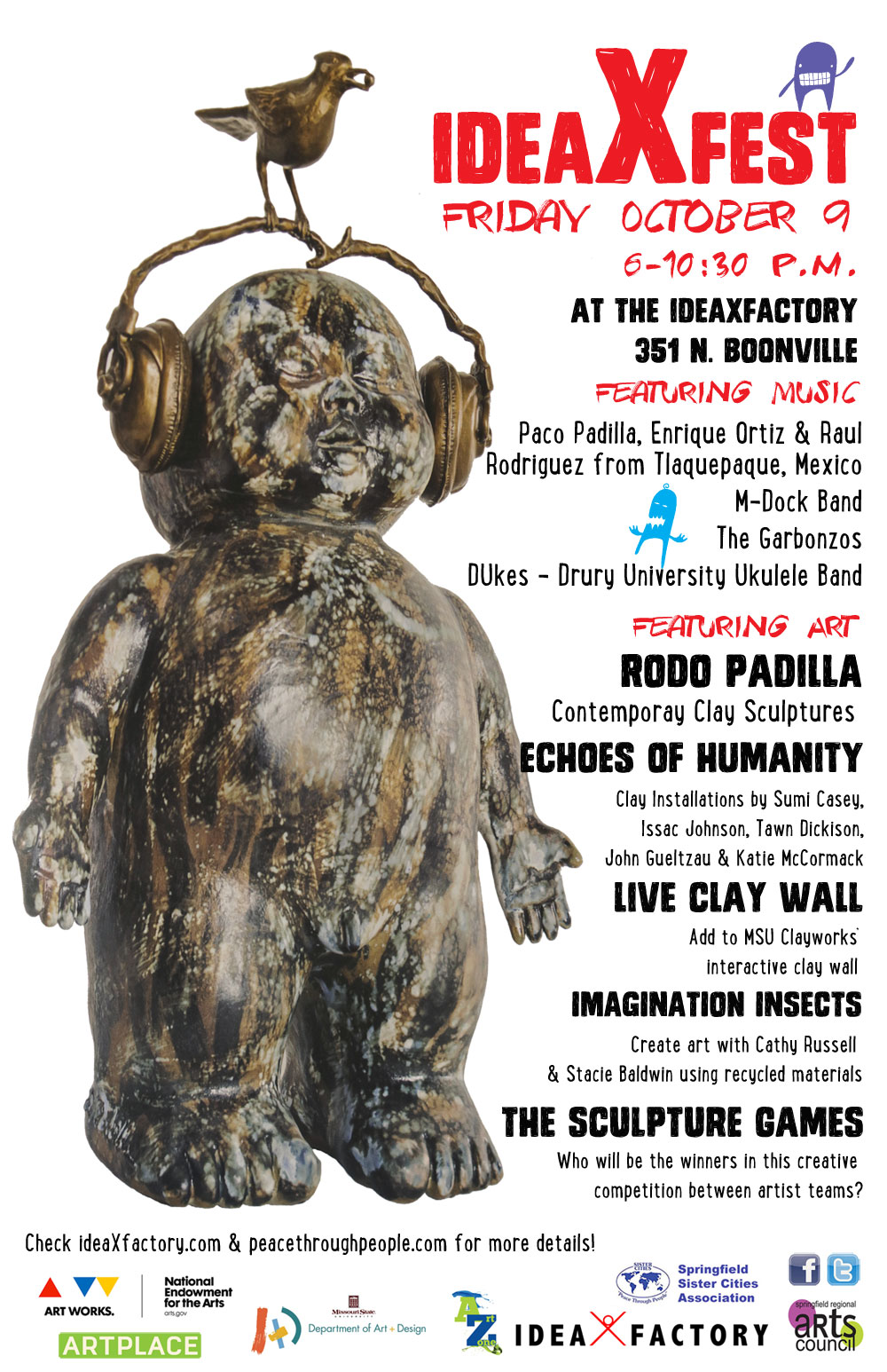Visiting Tlaquepaque Musicians and Artist featured at idea-X-fest on Oct. 9