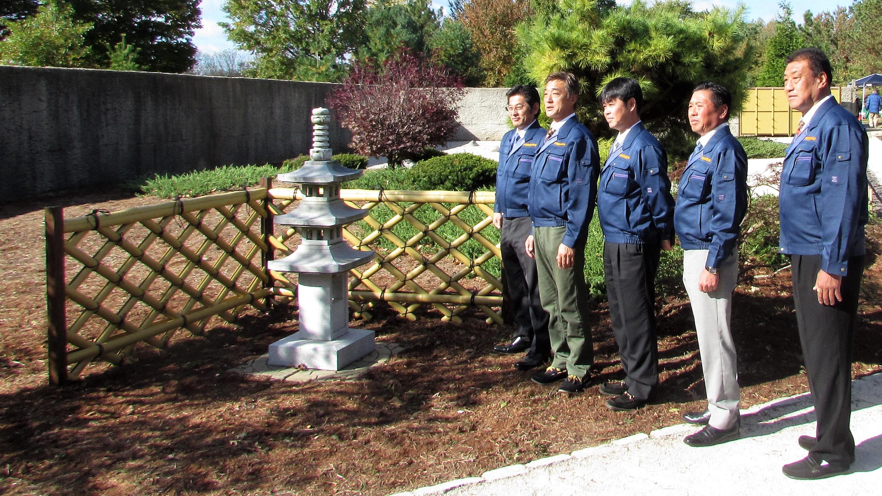 Isesaki gardeners bring skills to Springfield
