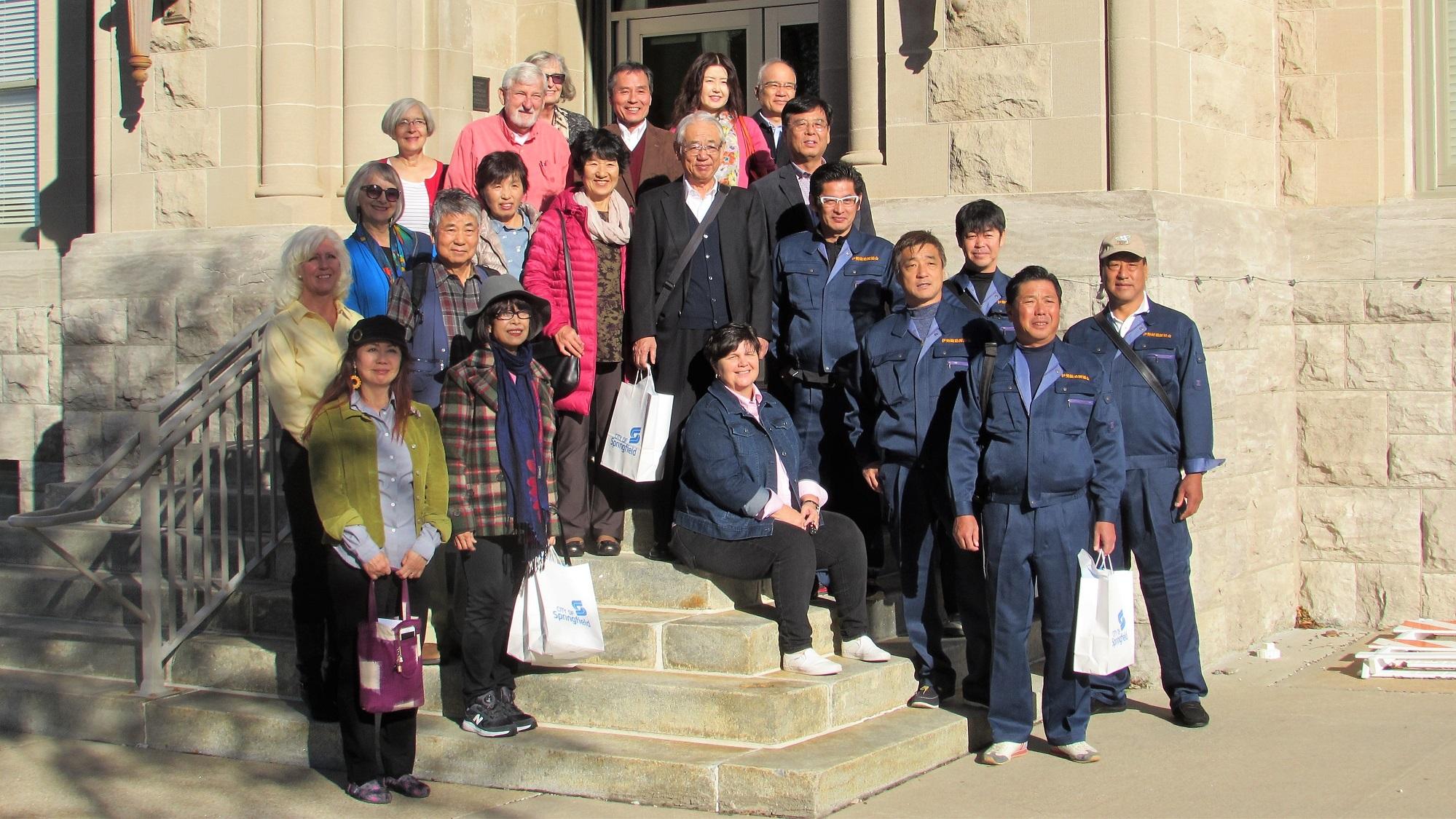 Japanese delegation visits Springfield