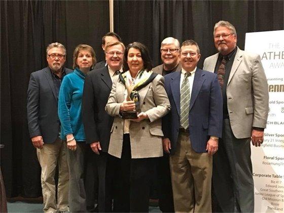 Jan Fisk receives prestigious ATHENA Award