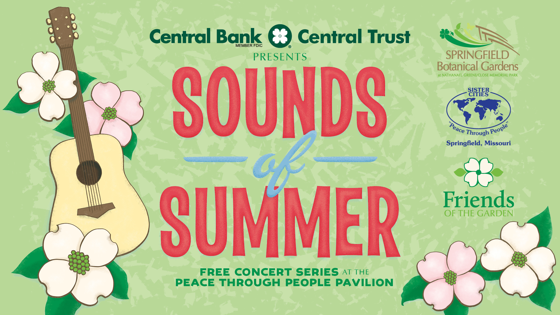 Enjoy the Sounds of Summer, a free concert series