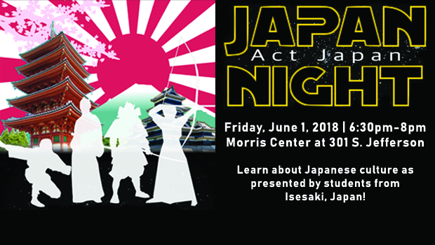 Learn about Japanese culture from Isesaki students