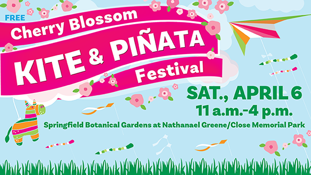 Celebrate spring and culture at the Cherry Blossom Kite and Piñata Festival