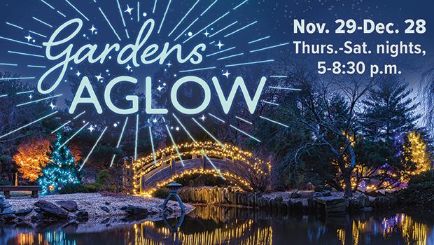 Gardens Aglow cancelled Sat., Dec. 28