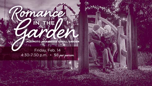 Valentine's Romance in the Garden welcomes third wheels