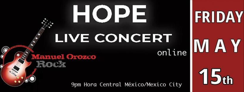 Virtual Hope Concert with Manuel Orozco