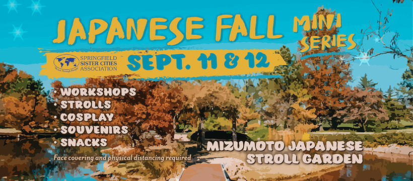 Japanese Fall Festival cancelled; Sister Cities presents scaled-back Japanese Fall Mini Series